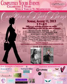 DC Area: Once Upon A Baby Bump – Event to Honor Mompreneurs Sunday!