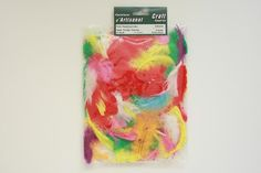 ZP183-99 Feather Plumage 2-3 inch 8 Grams Multi color