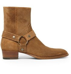 Saint LaurentSuede Harness Boots