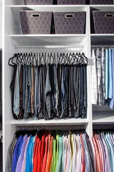 Maximize your closet space with these helpful tips.