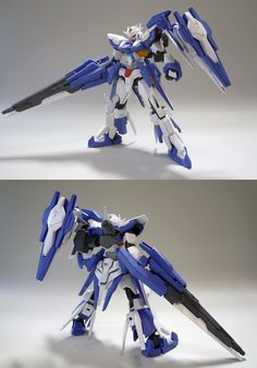 HG 1/144 Gundam AGE-FX Blaster Custom Build - Gundam Kits Collection News and Reviews