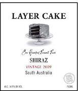 Layer Cake 2009 Shiraz, Wine Enthusiast Best Buys 2011 (#37), 91 points, $15