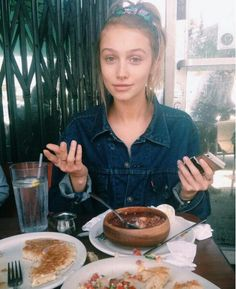 Cailin Russo with a tiny septum barbell