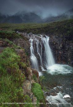 Glen Brittle Waterfalls, Isle of Skye, Scotland