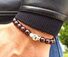 Check out this item in my Etsy shop https://www.etsy.com/listing/205134086/red-garnet-sterling-silver-stacking