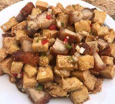 Filipino Appetizers, Appetizer Recipes, Filipino Food, Filipino Recipes, Pinoy Food, Tofu Dishes, Spicy Dishes, Tofu Recipes, Cooking Recipes