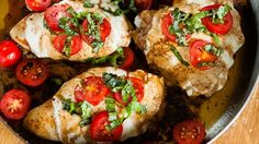 If you're short on time, fix up this skillet chicken caprese for a quick, but hearty meal for the whole family.