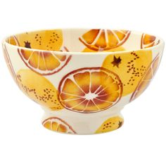 Seconds Oranges French Bowl