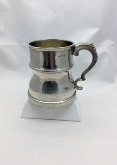 Vinage English Pewter Mug  Rand  Made in Sheffield by Pastfinds