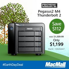 Pre-order a Pegasus2 M4 Thunderbolt 2 for $1199 and enjoy free shipping.T