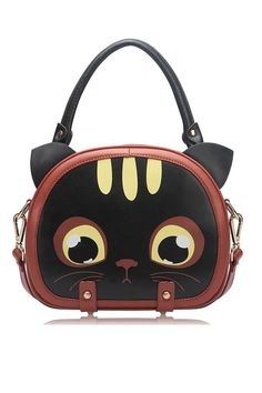 Luggage with Cat Design   Home > Bags/Purses > Shoulder Bags > Cartoon Cat Design Bag