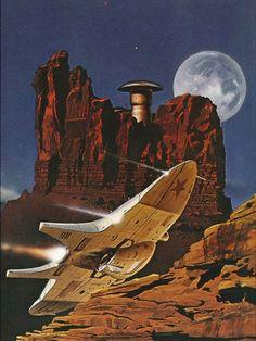 Clifford D. Simak - A Heritage of Stars Sci Fi Kunst, Les Aliens, Science Fiction Kunst, Arte Sci Fi, 70s Sci Fi Art, Armadura Medieval, Sci Fi Ships, Classic Sci Fi, Alien Worlds