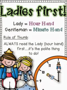 Telling Time First Grade Style