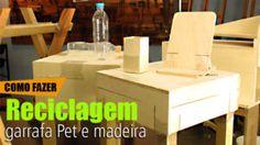 Reciclagem: Garrafas Pet e Madeira