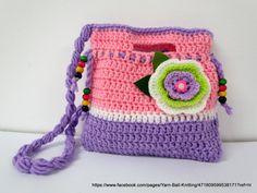 Small Crochet Purse. Crochet Clutch. Children's by Mirastyle