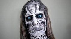 maquillage pour Halloween femme zombie facile sans latex