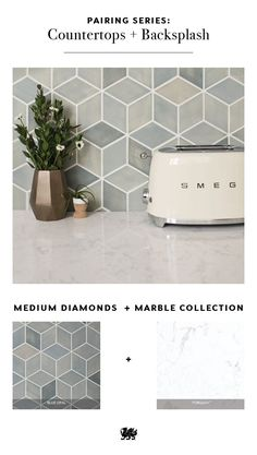 What's your best shape for tile in your backsplash? There are so many options to choose from that will pair beautifully with your Cambria quartz countertops. The neutral hues in our Marble Collection™ (Beauty Design Countertops)