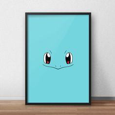Een persoonlijke favoriet uit mijn Etsy shop https://www.etsy.com/nl/listing/590214680/squirtle-pokemon-printed-canvas