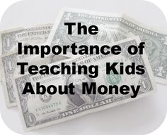 Teaching Kids About Money #shgenworth