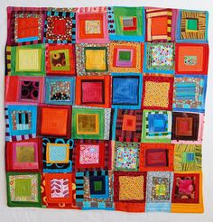 A quilt for Nate by stitchindye, via Flickr