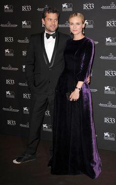 Diane Kruger and Joshua Jackson at the Venice Film Festival 2013