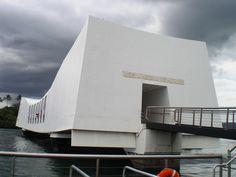 Historical place-USS ARIZONA MEMORIAL PEARL HARBOR