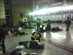 EASYLINK TRAVELERS/NEWS BOX: Manchester Arena images show chaos and devastation...