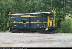 Claremont & Concord caboose