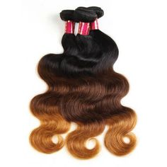 Cheap extensions weave, Buy Quality extensions remy directly from China extension hair Suppliers: Allove Hair 3 Tone Ombre Brazilian Hair Bundles 3 Bundles Body wave Hair Weave Shipping Free Remy Hair Extensions Brown To Blonde Ombre Hair, Best Ombre Hair, Black Ombre, Blonde Ombre Weave, Colored Hair Extensions, Weave Extensions, Brazilian Hair Bundles, Body Wave Hair, Brazilian Hair