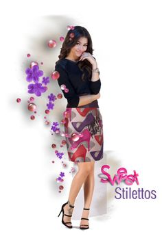 """""""Sweet Stilettos"""" by kbarkstyle ❤ liked on Polyvore featuring art"""