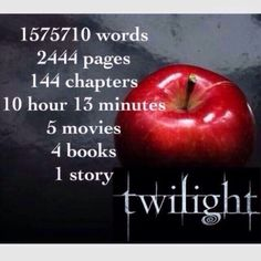 I love twilight!!! So much!!