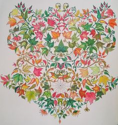 This is one I colored myself from Secret Garden by Johanna Basford, my favorite book! Colouring Pages, Coloring Books, Johanna Basford Secret Garden, Secret Garden Coloring Book, Color Pencil Art, Neon Colors, Color Inspiration, Colored Pencils, Illustration
