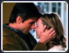 """""""Jerry Maguire"""" (1996), Tom Cruise and Renée Zellweger--the memorable """"You complete me kiss"""""""