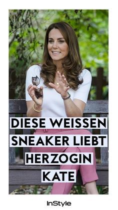 Royaler Sneaker-Trend: Herzogin Kate trägt diese, günstigen Turnschuhe #instyle #instylegermany #mode #modetrend #kate ä#herzoginkate #sneaker #weißesneaker #schuhe #schuhtrend Sneaker Trend, Sneakers, Duchess Kate, New Fashion Trends, Styling Tips, Tennis, Slippers, Sneaker, Women's Sneakers