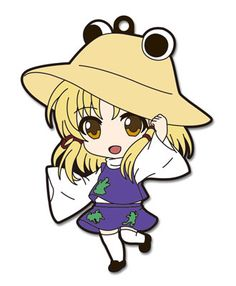 Nendoroid Plus Rubber Strap - Touhou Project Vol.6 Suwako Moriya