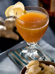 Hot Apple-Ginger Toddy