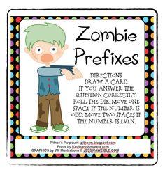 Classroom Freebies: Prefix Practice