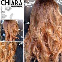 #colorcouture #hot #caramel #hair...#cool #haircolor #waiting #summer...#top #quality  #haisalon #bari ... @chiara_hairdressing ... @wellahair ...☀️☀️❤️