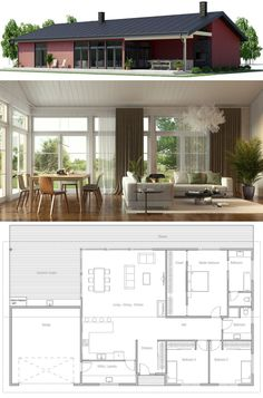 Modular Home Plan, Prefab House Plan