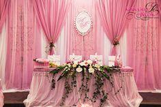 classic wedding table decor, head table decor, pink wedding decorations Украшение стола. Оформление свадьбы в Астрахани. Свадебный декор от #Caramelderose. Зал Виктория Палас +79275552150
