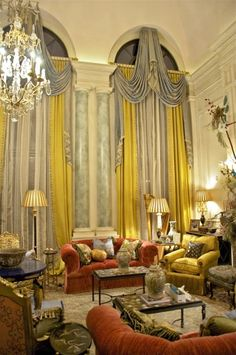 Classical Interiors, Timeless Elegance, Old World - William R. Eubanks Interior Design, Inc.