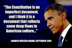 OBVIOUSLY, Obama does not have a lot of love for 'AMERICAN' values.