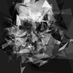 computer generated polygon art, from http://iobound.com/pareidoloop/ ... they're created to be accepted by facial recognition programs
