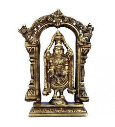 Lord Tirupati Balaji Statue In Brass