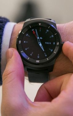 LG's second Android Wear device, the G Watch R.