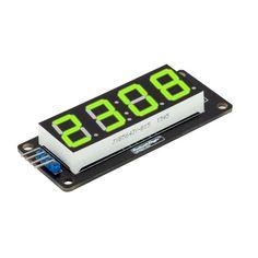10Pcs RobotDyn® LED verde Módulo de 4 dígitos de 7 segmentos de tubo para Arduino DIY
