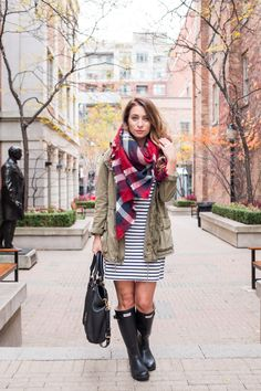 OOTD - Stripes + Plaid and Why I Hate The Term 'Basic Bitch' | La Petite Noob