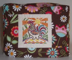 2 Slice Toaster Cover  Mola Rooster by PatsysPatchwork on Etsy, $18.00