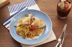 Paella Valenciana... #AMCRezept #AMCrecettes Paella Valenciana, Food Videos, Recipe Videos, Bon Appetit, Cooking, Breakfast, Ethnic Recipes, Malaga, Noodles