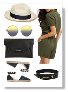 """""""Hello summer ☀️"""" by shrougsd on Polyvore featuring Valentino, Givenchy, Gucci, Artesano and Matthew Williamson"""